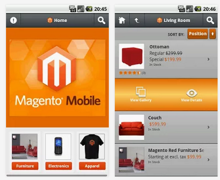 magento android
