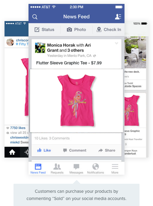 magento sell on facebook and instagramm