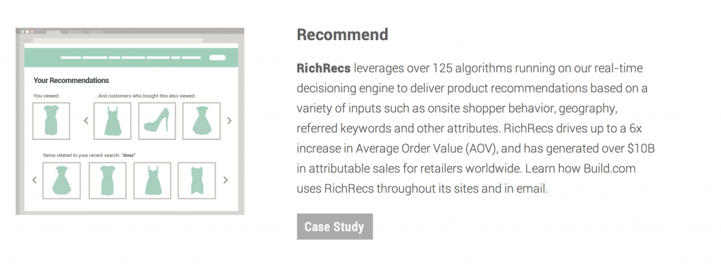 richrecs magento recommendations engine