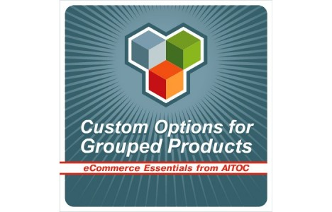 custom options for grouped products magento extension