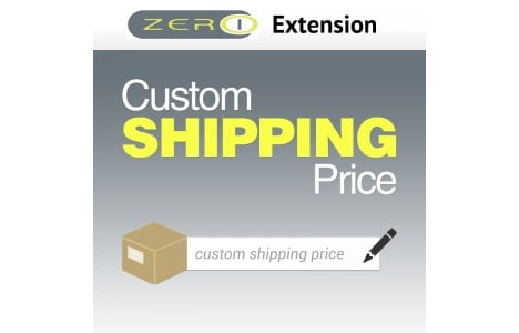 Custom Product Pricing Magento Extensions: custom shipping price