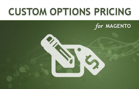 Custom Product Pricing Magento Extensions: custom options pricing