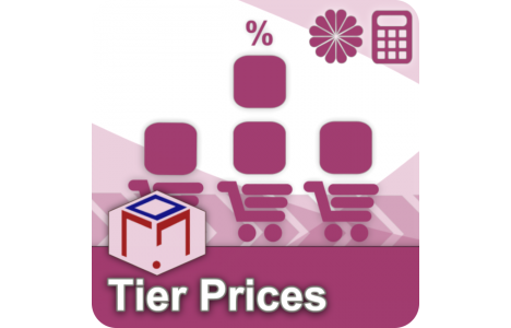 Custom Product Pricing Magento Extensions: tier prices