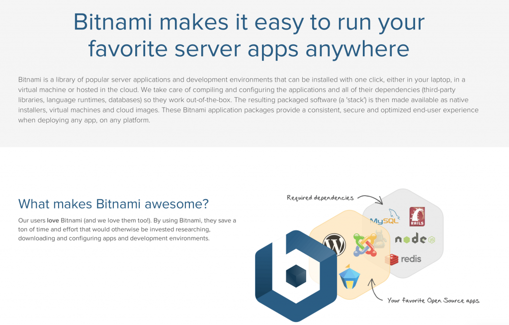 bitnami local server