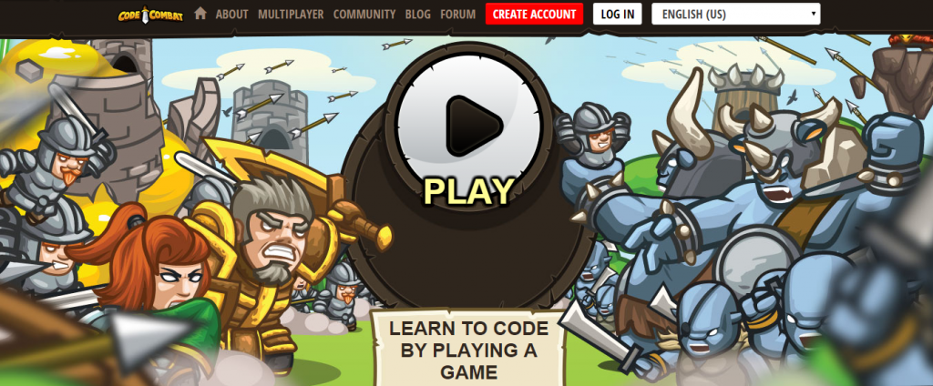 Coding game CodeCombat