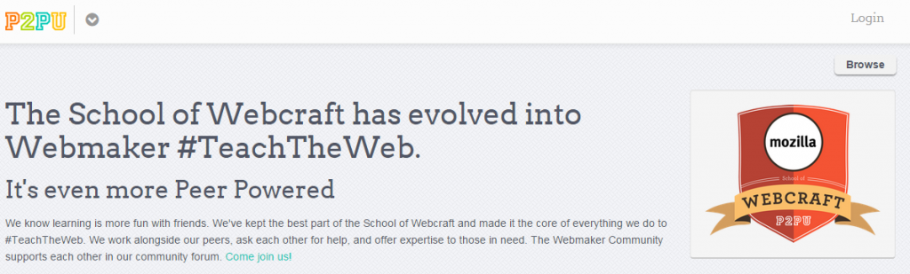 Webcraft by Mozilla