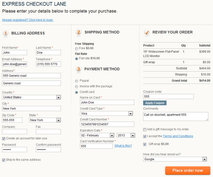 one page checkout Magento 2 extensions; one step checkout Magento 2 modules