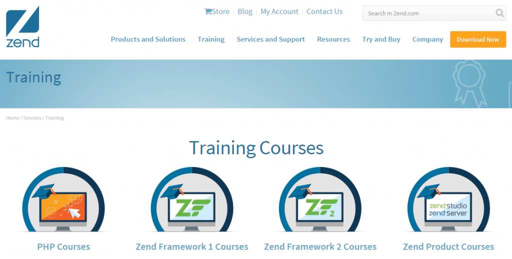 PHP Courses by Zend