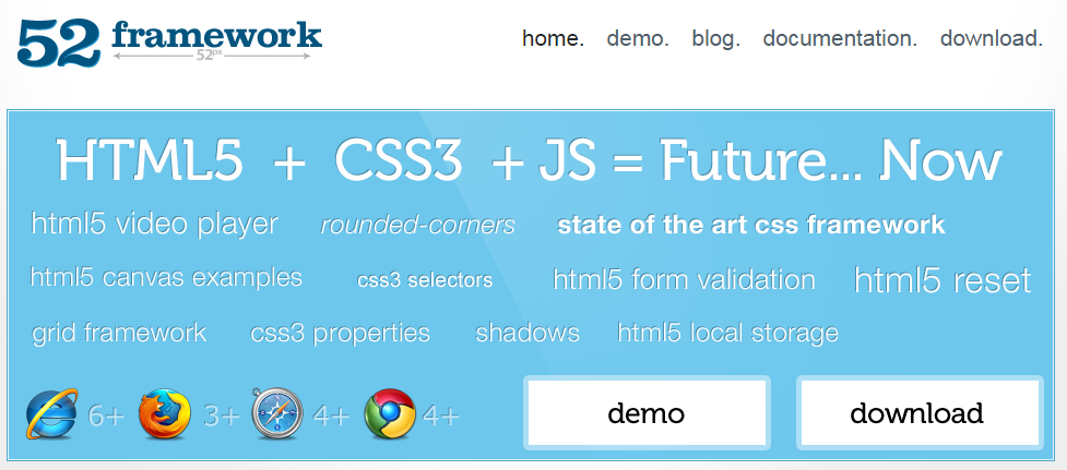 The best css frameworks and grid systems firebear css framework malvernweather Gallery