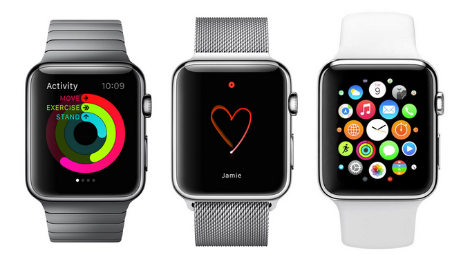 Apple Watch und tragbares E-Commerce