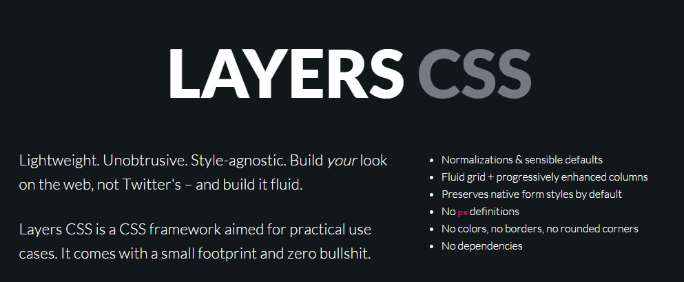 The best css frameworks and grid systems firebear css framework malvernweather Images