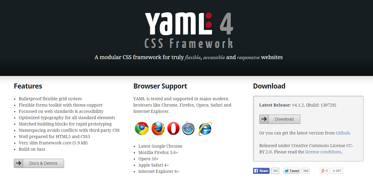 The best css frameworks and grid systems firebear css framework yaml malvernweather Images