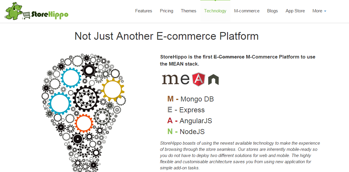 Node js (Best CMS, E-Commerce systems, and Open Source