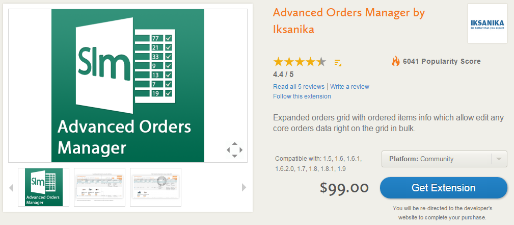 Advanced Order Management, Invoicing, Shipping, Custom Order Statuses with Magento Extensions