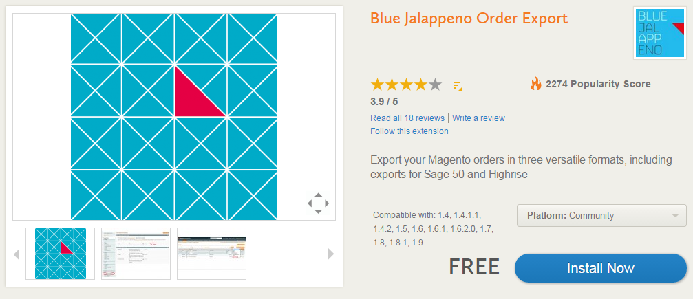 Advanced Order Management, Invoicing, Shipping, Custom Order Statuses with Blue Jalappeno Order Export