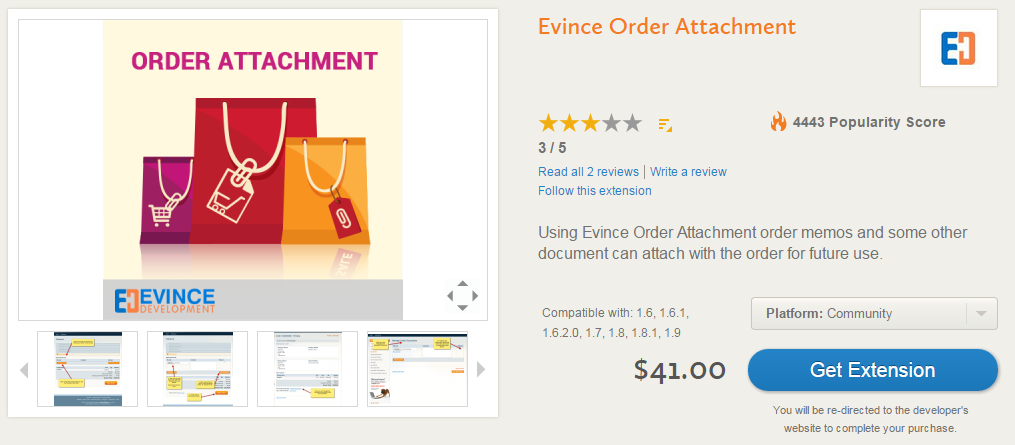 Advanced Order Management, Invoicing, Shipping, Custom Order Statuses with Evince Order Attachment