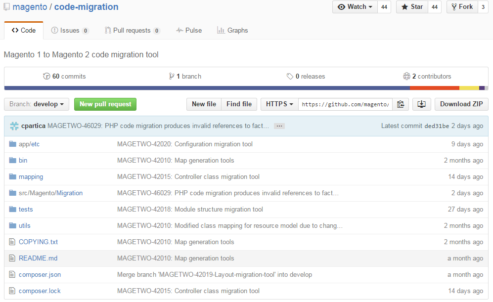 Migration to Magento 2: Code Migration Toolkit