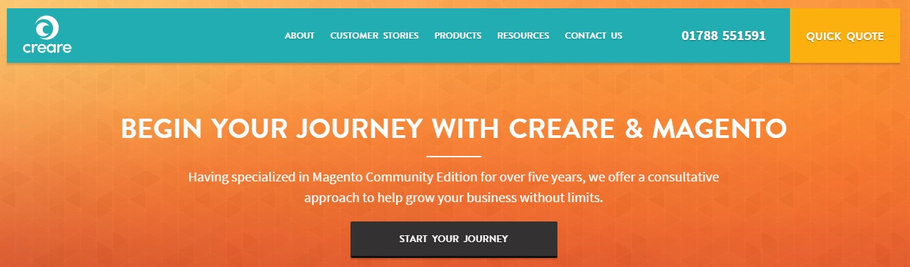 Magento development services: Creare