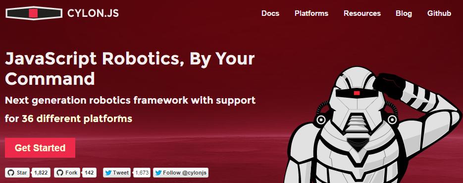 Cylon.js - Node.js tool for the Internet of Things development