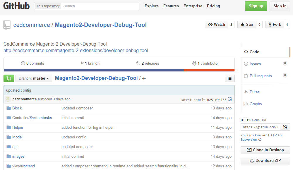 Magento 2 debugging with CedCommerce Developer Debug Tool