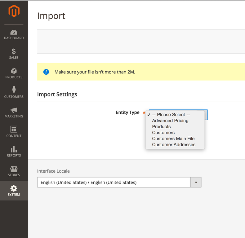 How to Import Products to Magento 2