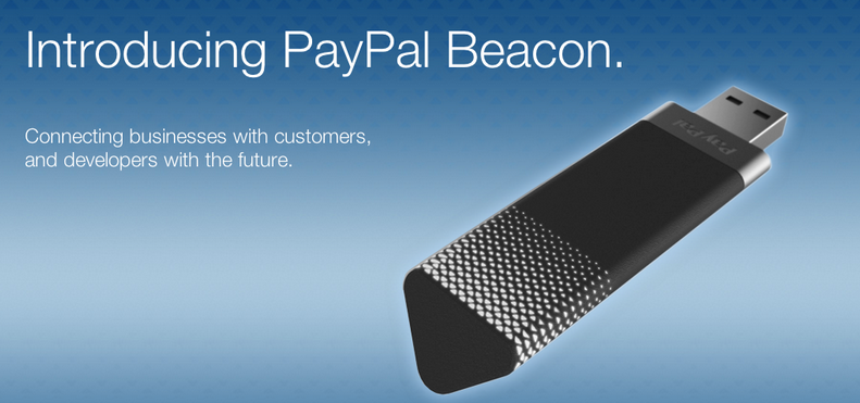 Contactless payments with PayPal Beacon
