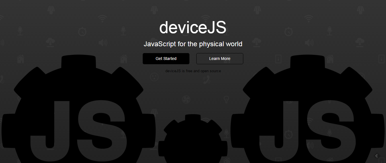 deviceJS - Node.js tool for the Internet of Things development