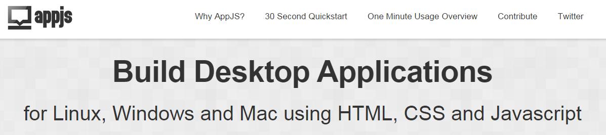 The Best Cross-Platform Development Tools: AppJS
