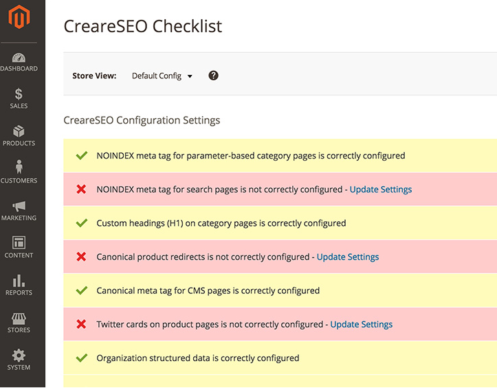 CreareSEO 2.0 Magento 2 Extension