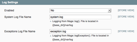 MAgento 2 modules: Disable logs