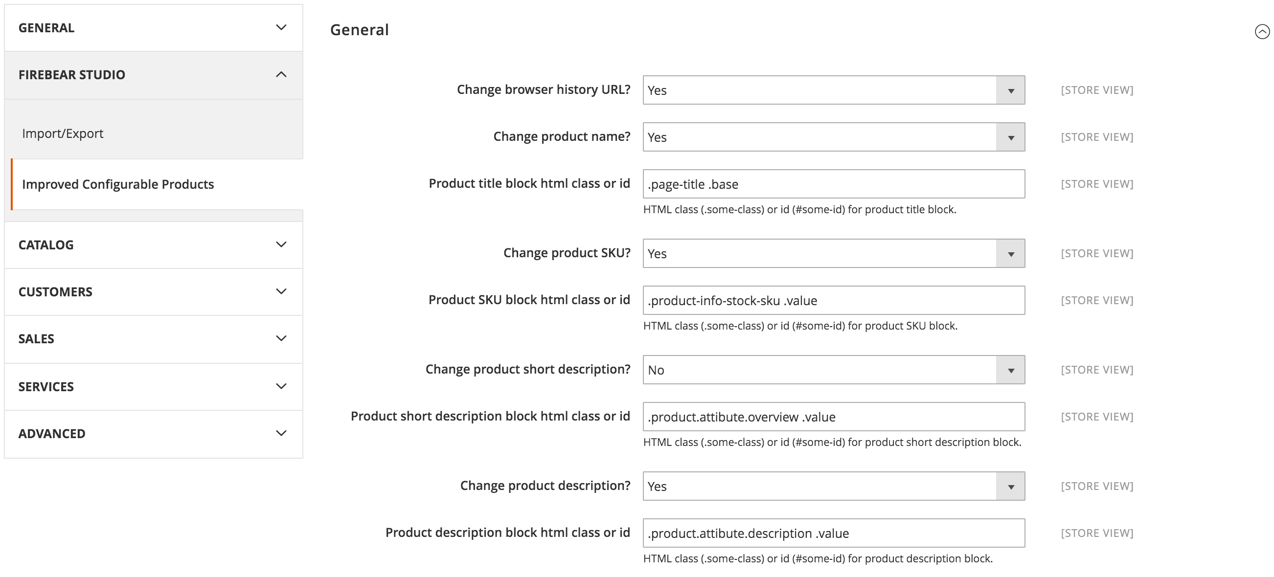 Improved Configurable Products Magento 2 Extension
