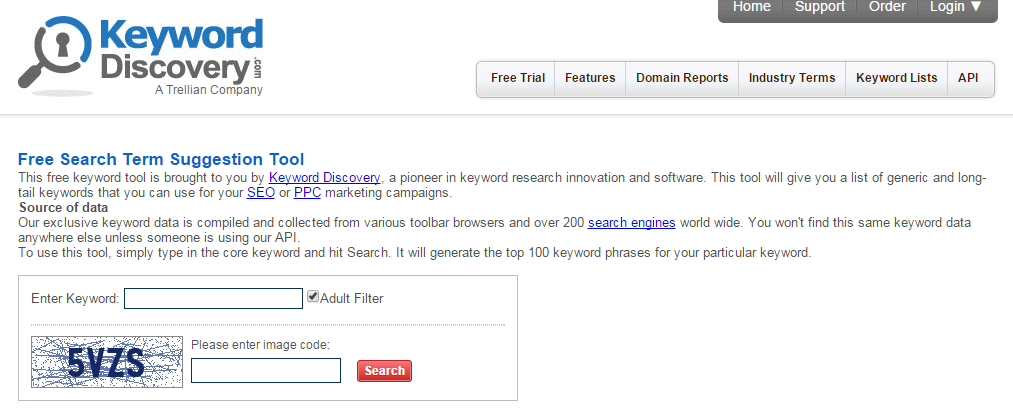 Keyword Research Tools: Keyword Discovery
