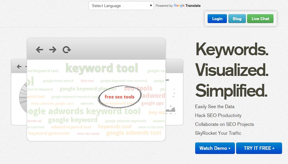 Keyword Research Tools: Keyword Eye