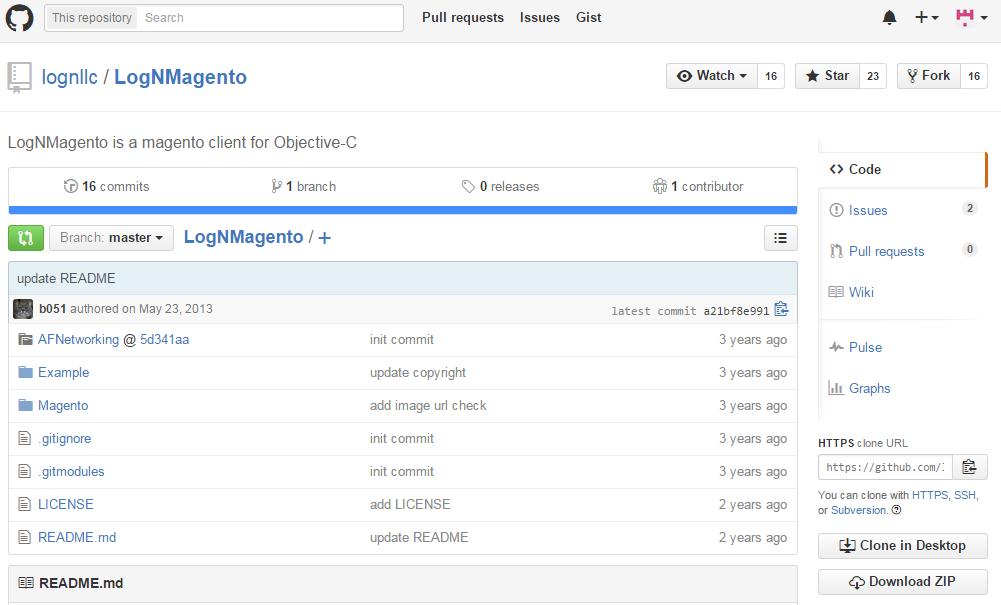 LogN Magento API Wrapper for Magento