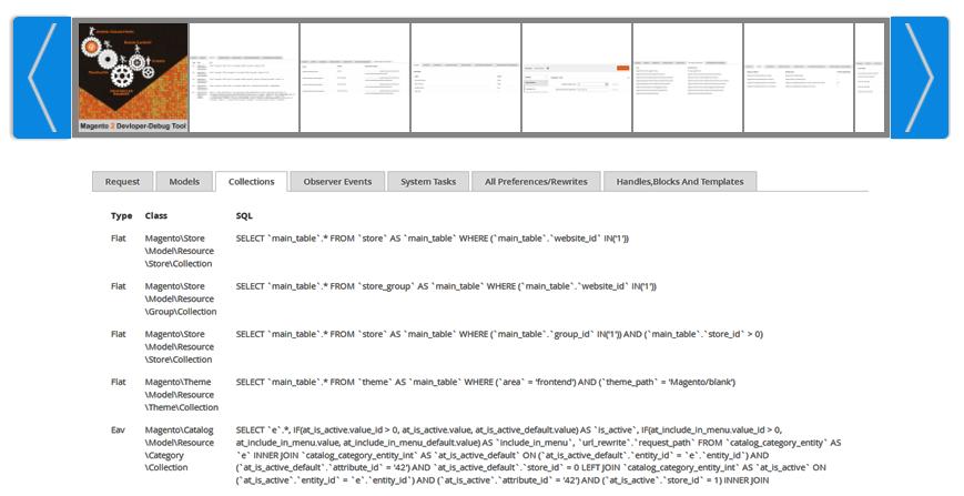 Developer-Debug Tool Magento 2 module