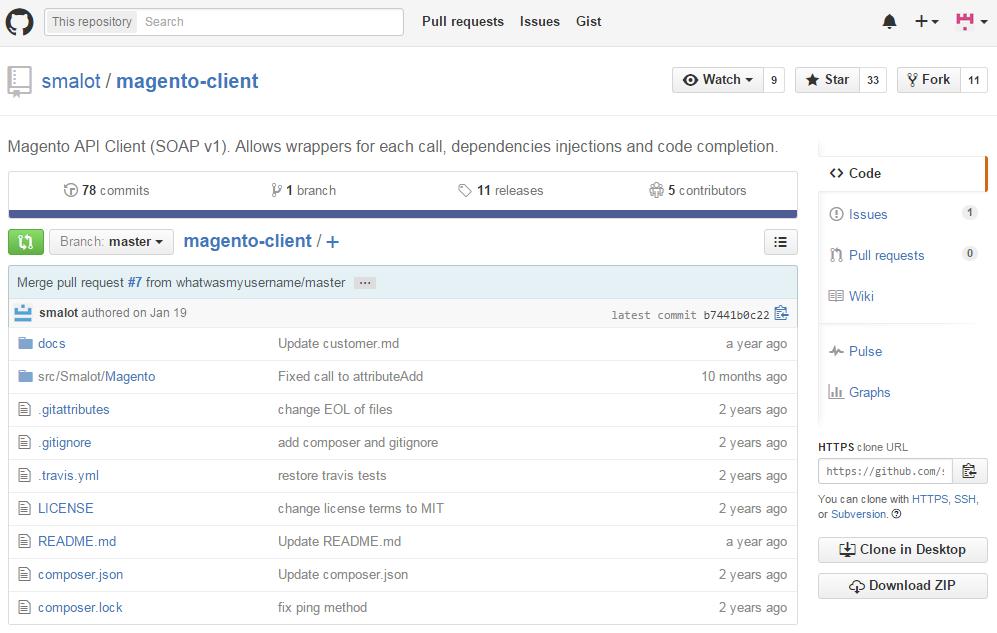 Magento SOAP API wrapper