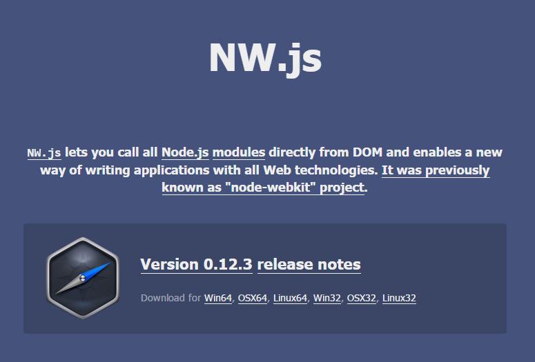 The Best Cross-Platform Development Tools: NW.js