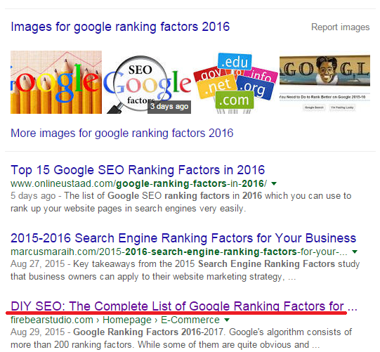 On-Page SEO 2016: Content