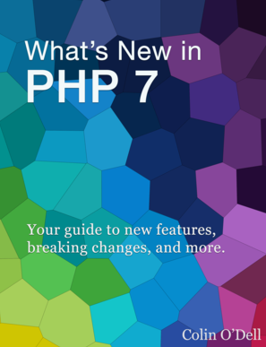 PHP 7 books: What's New in PHP 7