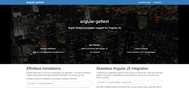 AngularJS tools: ANGULAR GETTEXT