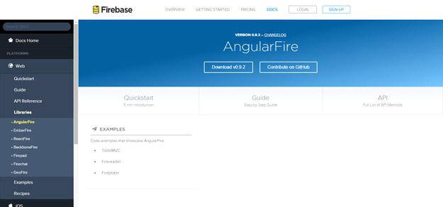 AngularJS tools: ANGULARFIRE