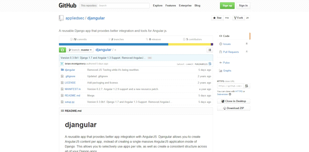 AngularJS tools: DJANGULAR