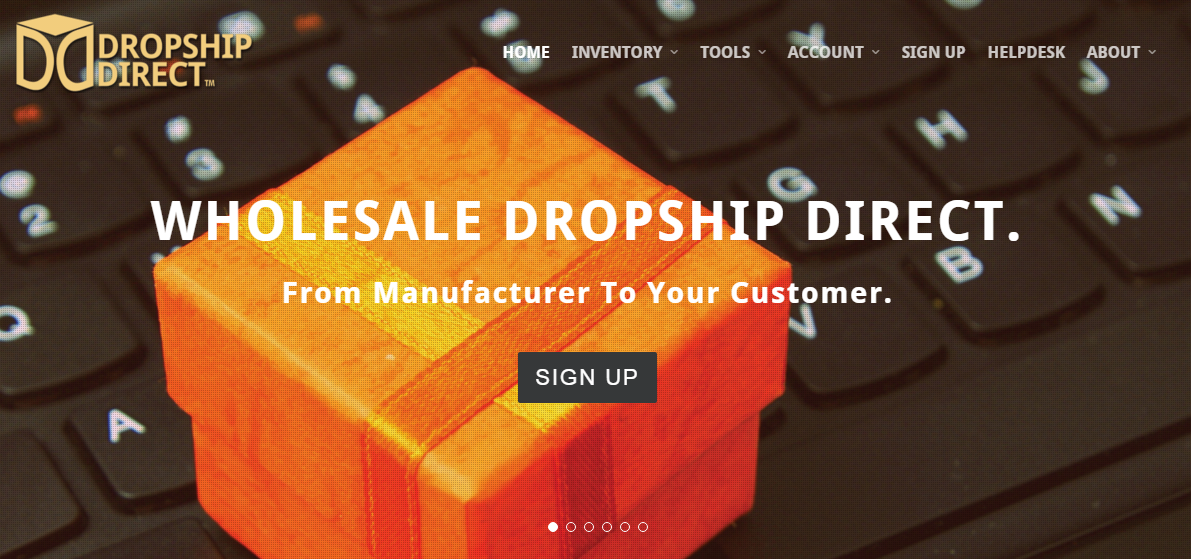 Dropship Direct drop shipping company
