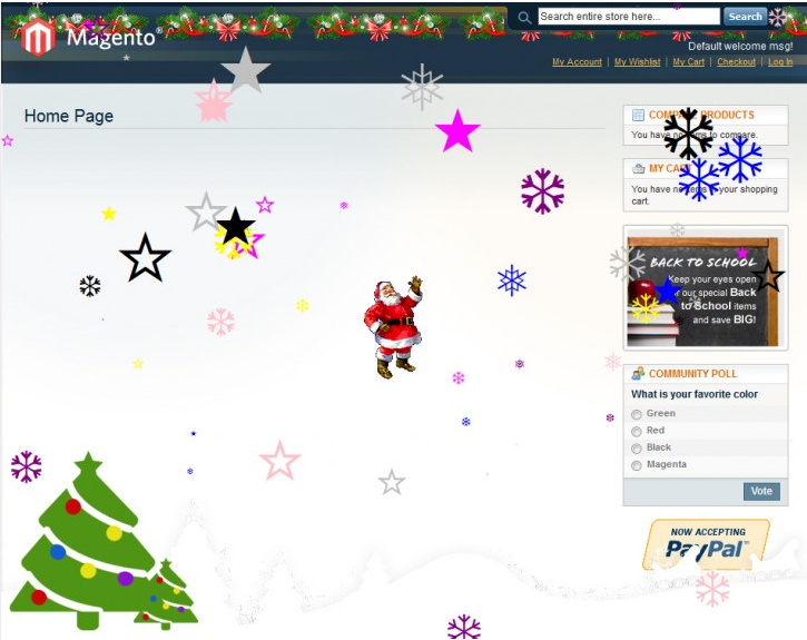 Magento Christmas Store: Festive Season Extension