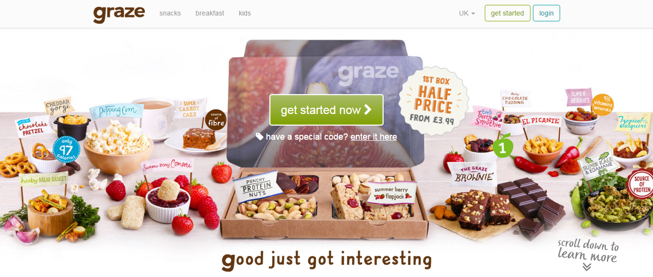 Magento 2 shops showcase: Graze