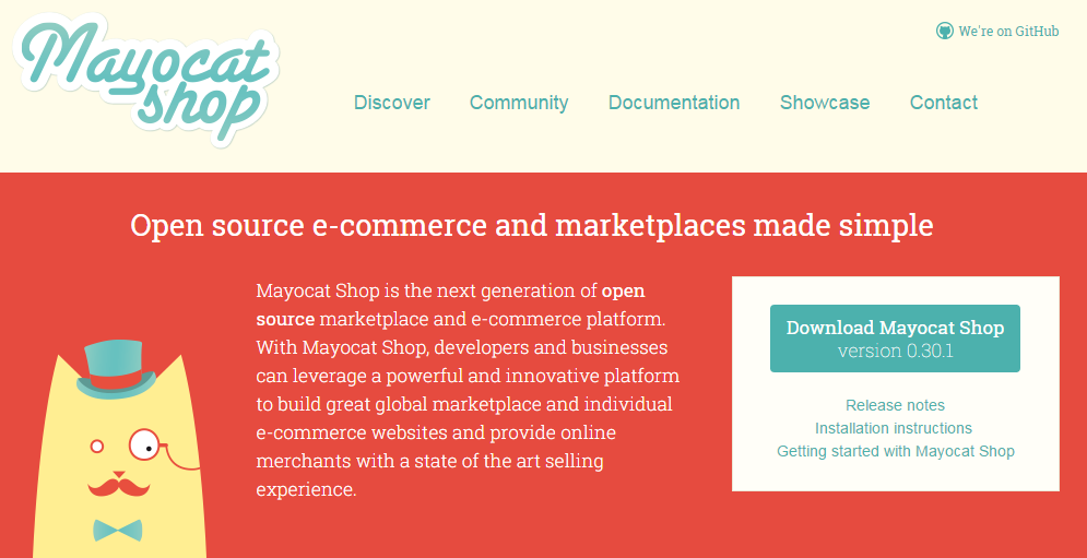 Java Ecommerce with Mayocat