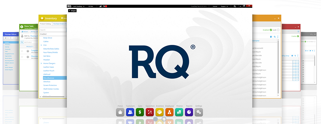 POS tools: RQ Retail Management