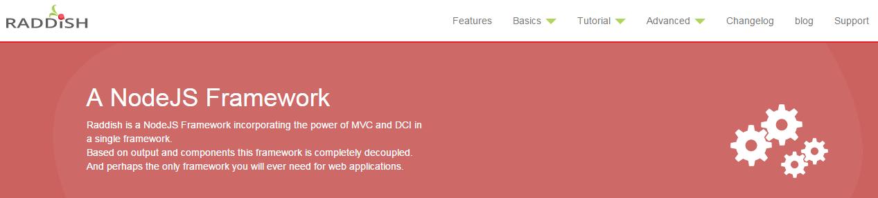 Raddish Node.js REST API framework