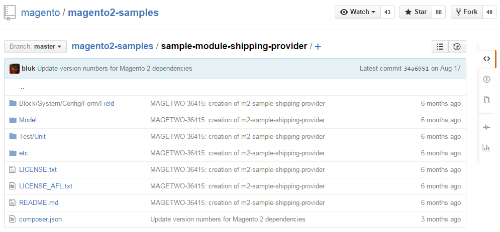 Magento 2 shipping methods