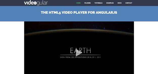 AngularJS tools: VIDEOGULAR